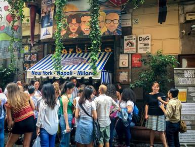 We ate at La Pizzeria Sorbillo, which wa