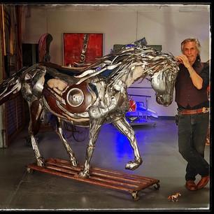 Chrome Sculptures in Telluride