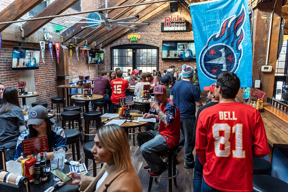 Best Local Restaurants in Denver - Blake Street Tavern has plenty of seating!