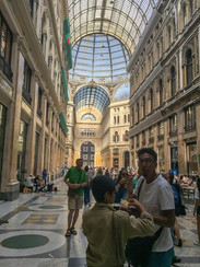 Galleria Umberto I, built in the late 18