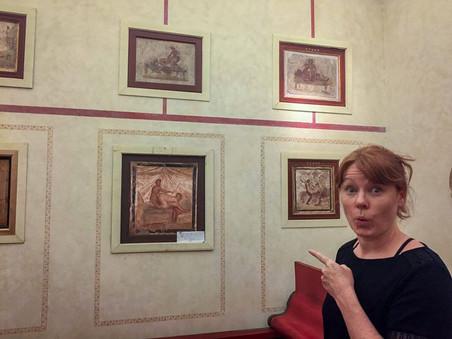 Idelle enjoying the artwork..jpg