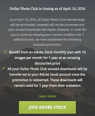 Alternative to Dollarphotoclub com for inexpensive Stock Photos