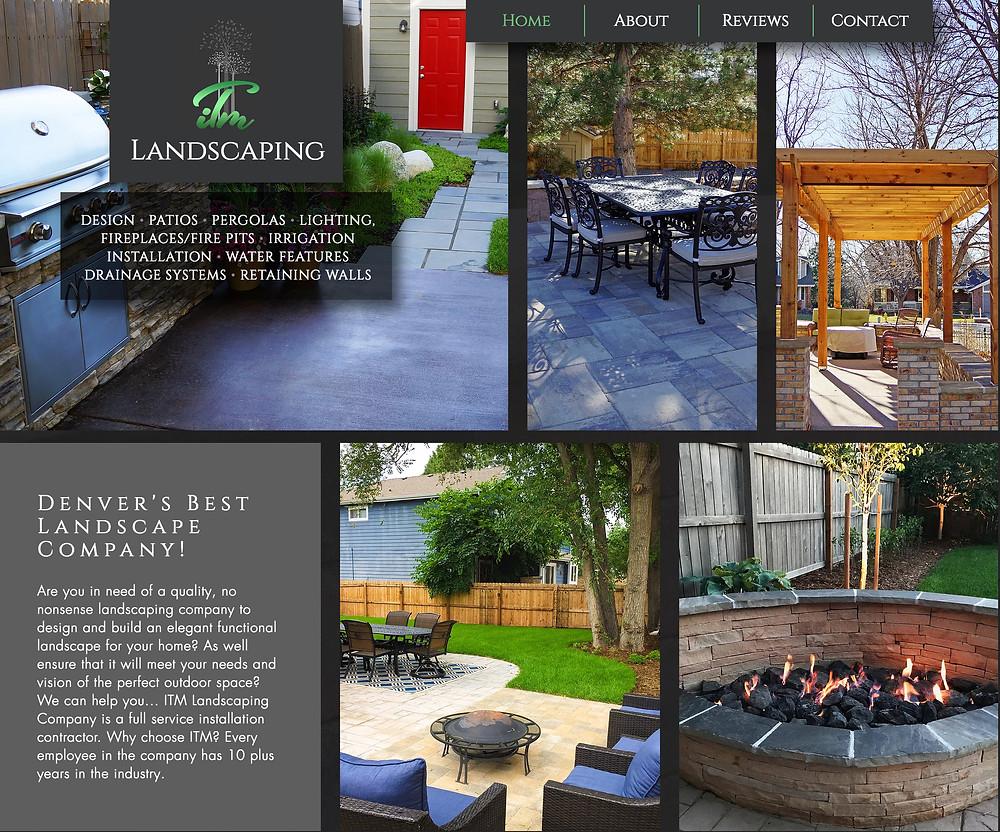 Best Wix Designer - Landscaping Company