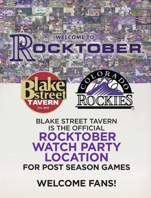 Official Rocktober Bar Location: Blake Street Tavern