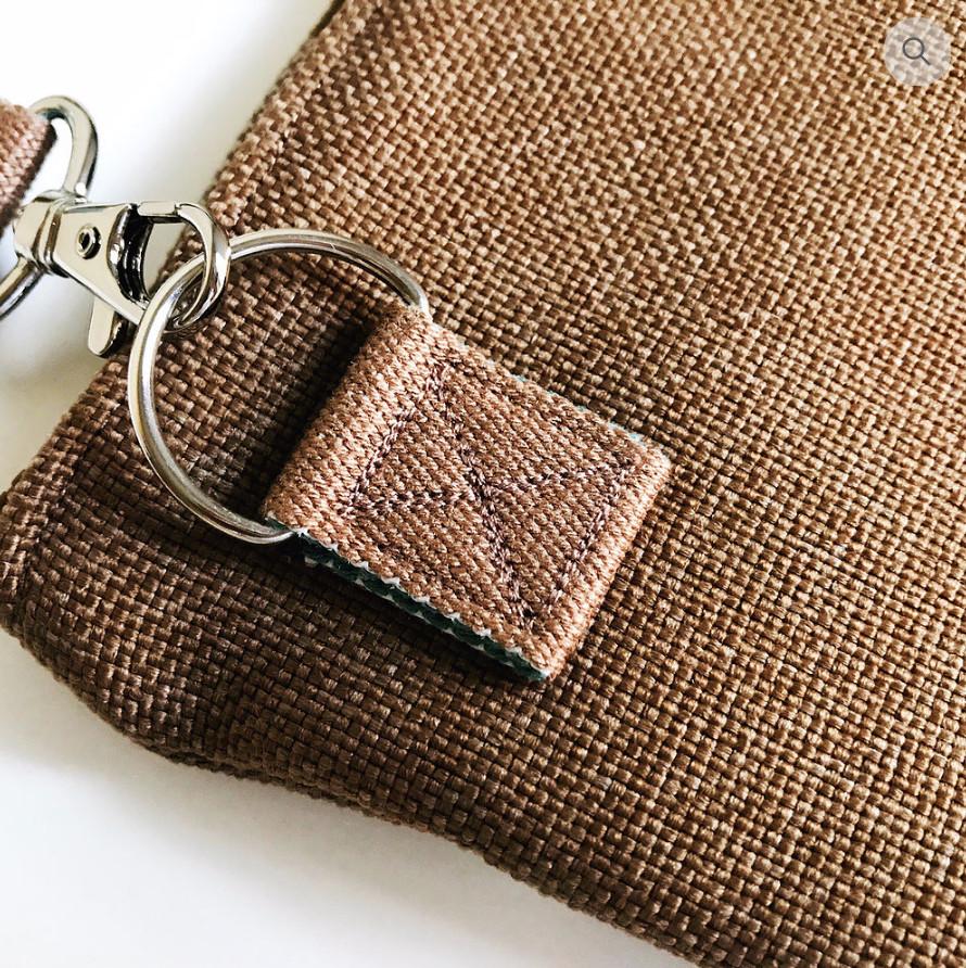 Custom Handbags - Brown Mini Crossbody Bag