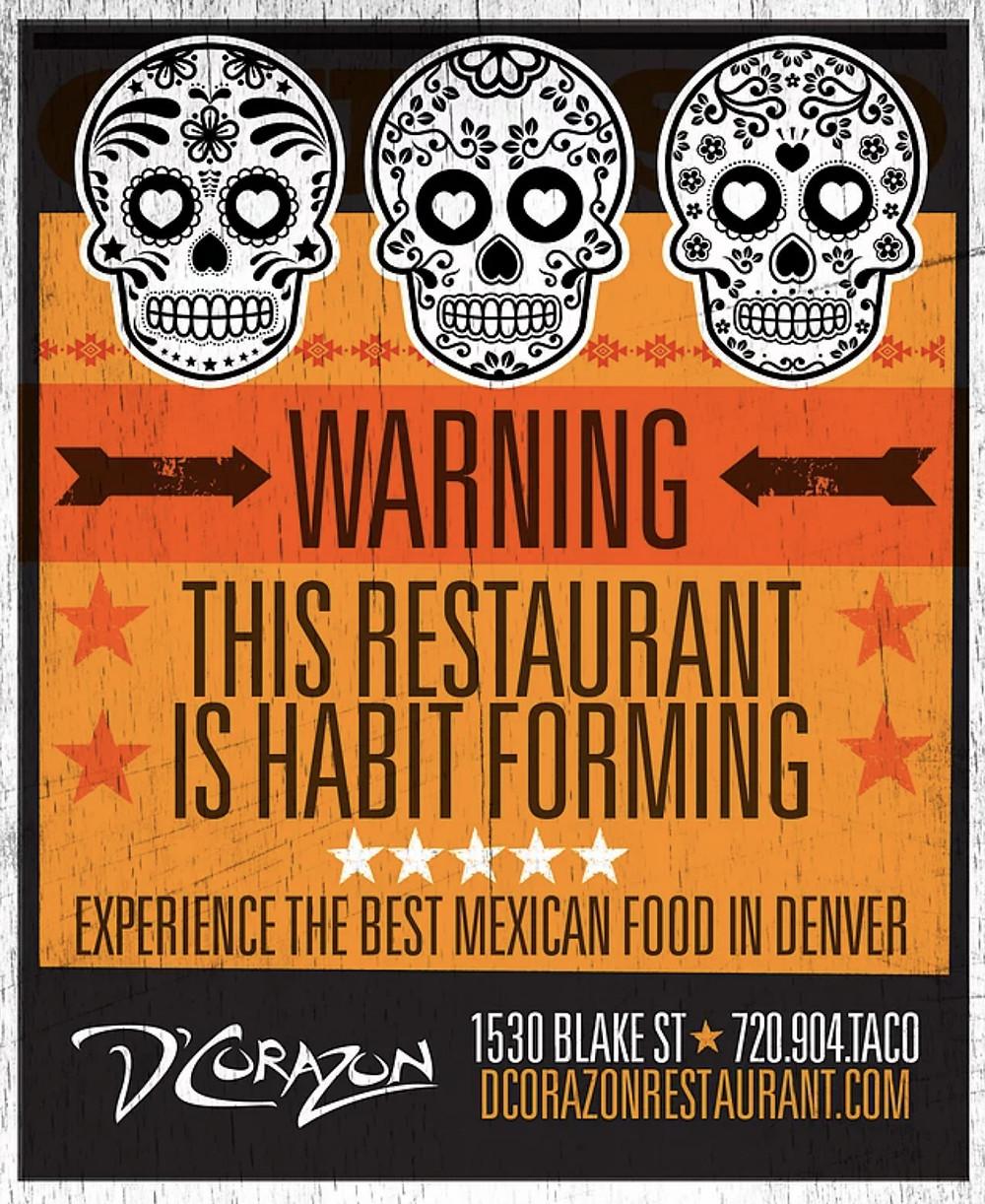 Graphic Designer for Mexican Restaurant – Ad design