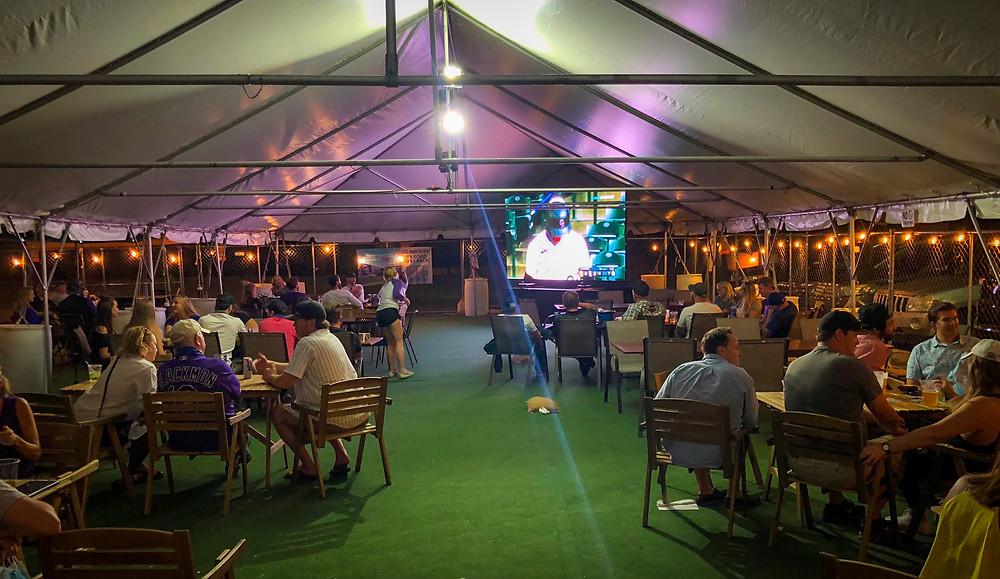 Denver Beer Garden - Blake Street Tavern has a Giant Screen for Watching Sports!