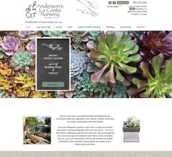 Website Design for Garden Nursery
