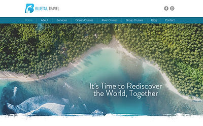 Travel Agency Website Designer