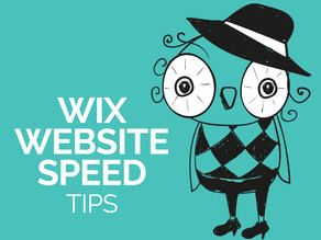 Wix Website Speed