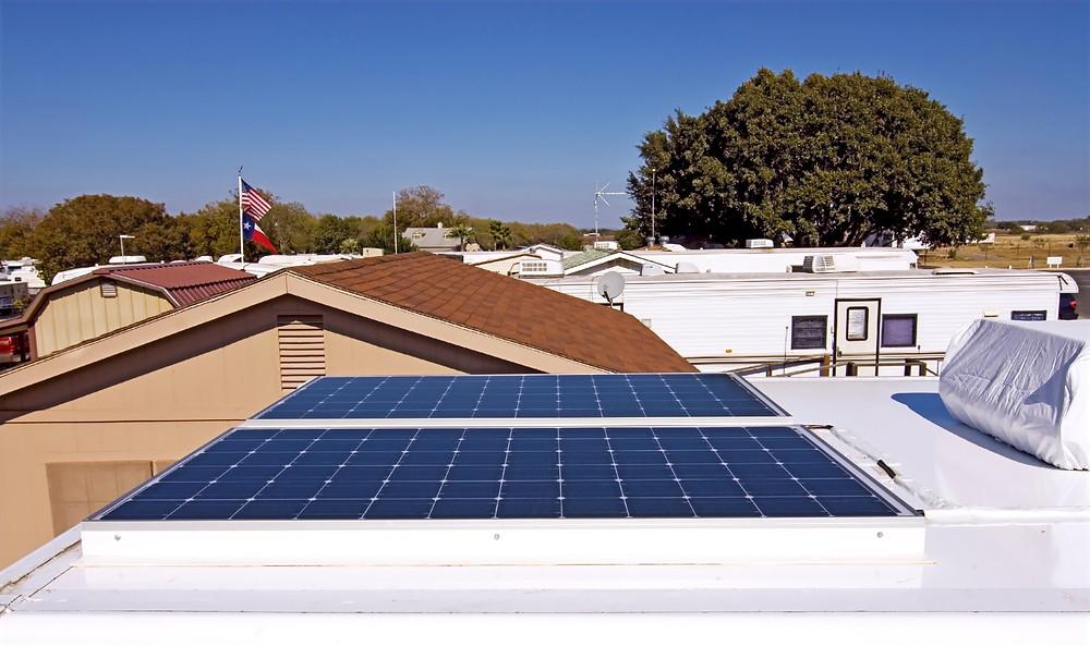 RV Solar Installation - California from Sbrega Electric near Fresno