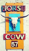 Paonia Art Gallery - Horse Cow 57