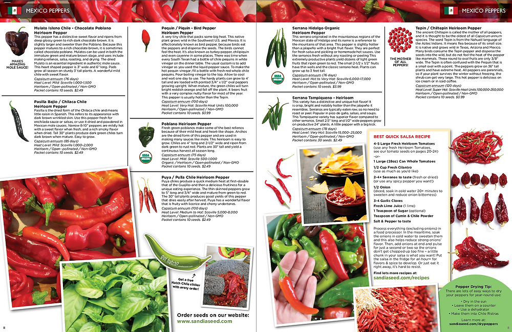 Product Catalog Design for Seed Catalogue