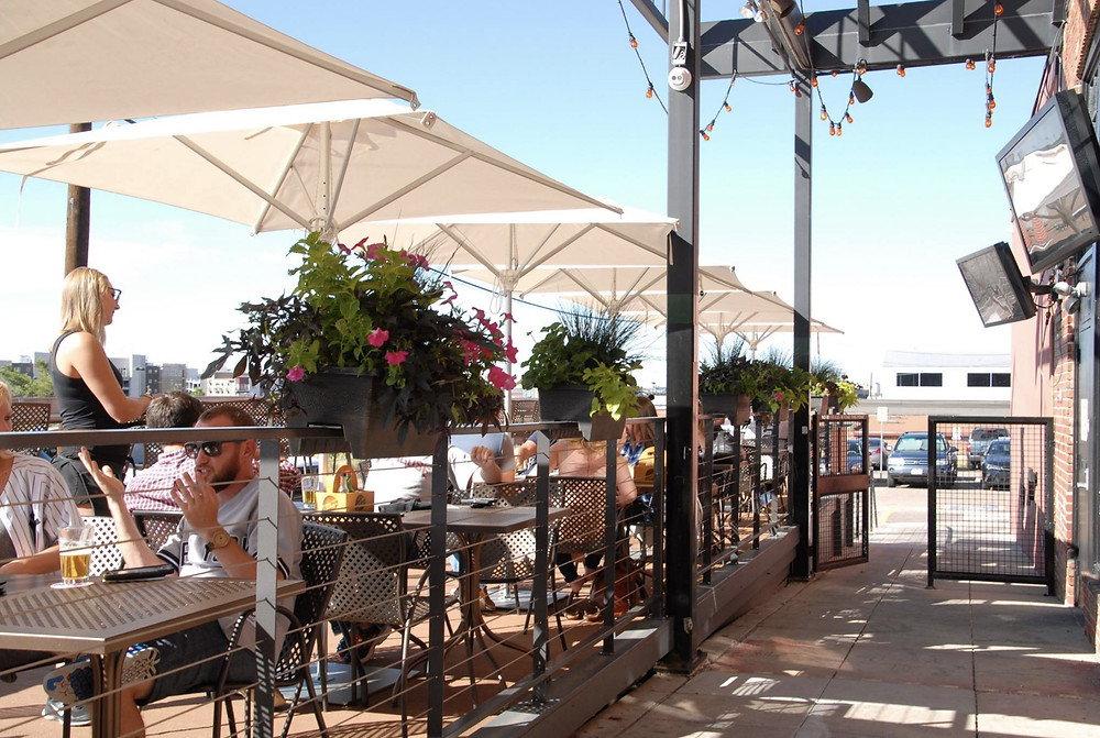 Best Restaurants near Coors Field - Blake Street Tavern has a great patio!