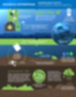 Biodegradable Plastic Infographic Design