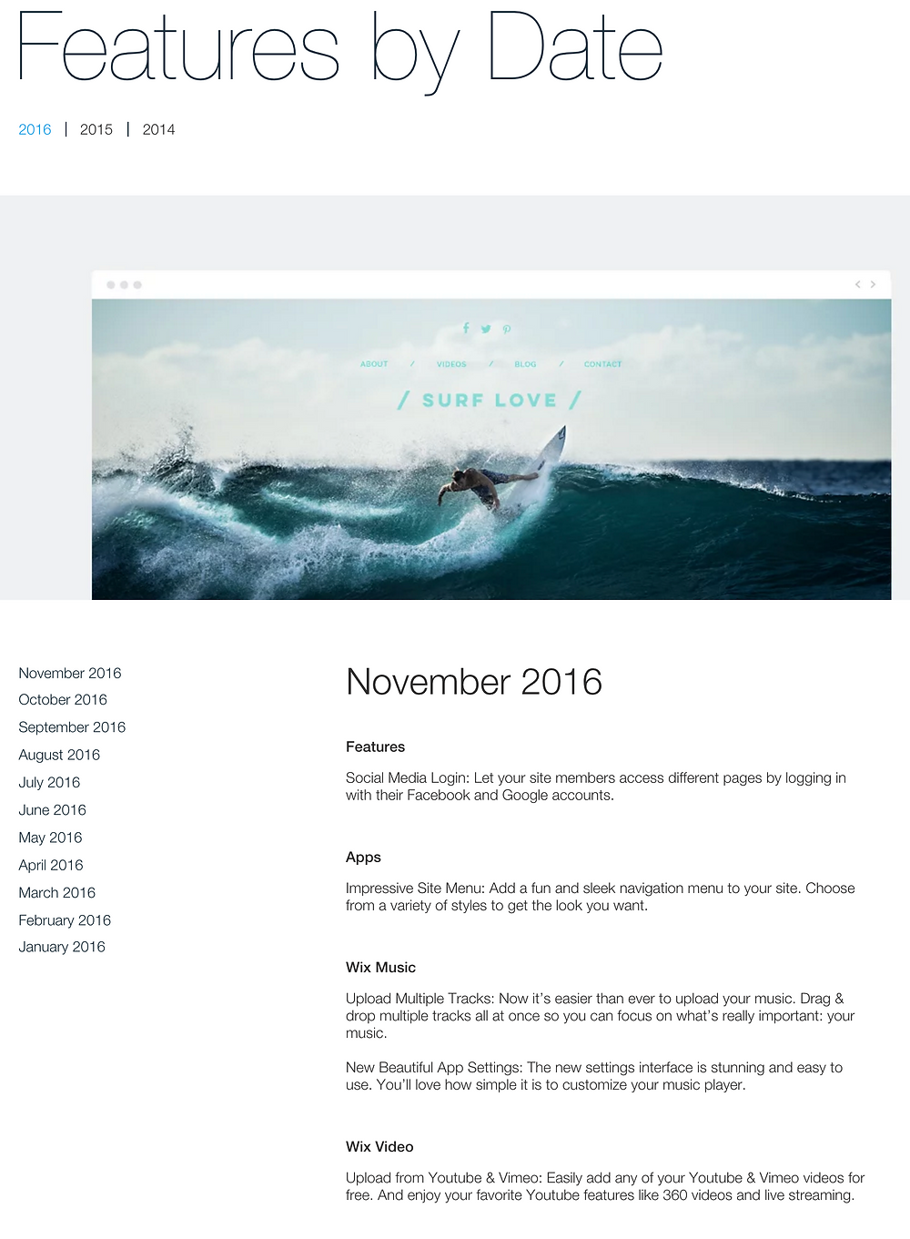 Denver Wix Web Designer – Recent Wix Feature Releases