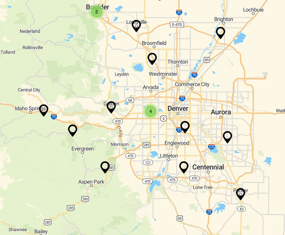 Colorado Hot Sauce Locations - where to buy Colorado Hot Sauces from Cooper's Small Batch Hot Sauce