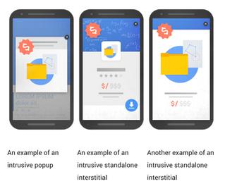 Google dislikes Popups, too.