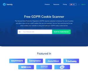 Free GDPR Cookie Scanner