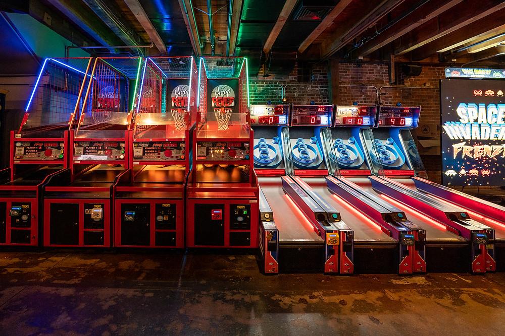 Fun Restaurants in Denver - Blake Street Tavern has an Arcade Bar!