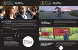 Catalog Designer for Film Festival