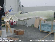 Ian applies first coat of primer to H-1 Racer fuselage