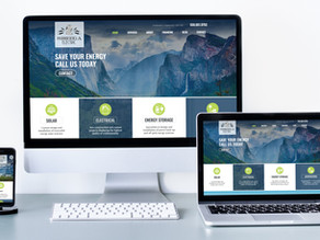 Solar Company Website Designer