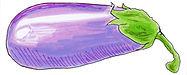 Denver Illustrator - Eggplant by Idelle Fishe