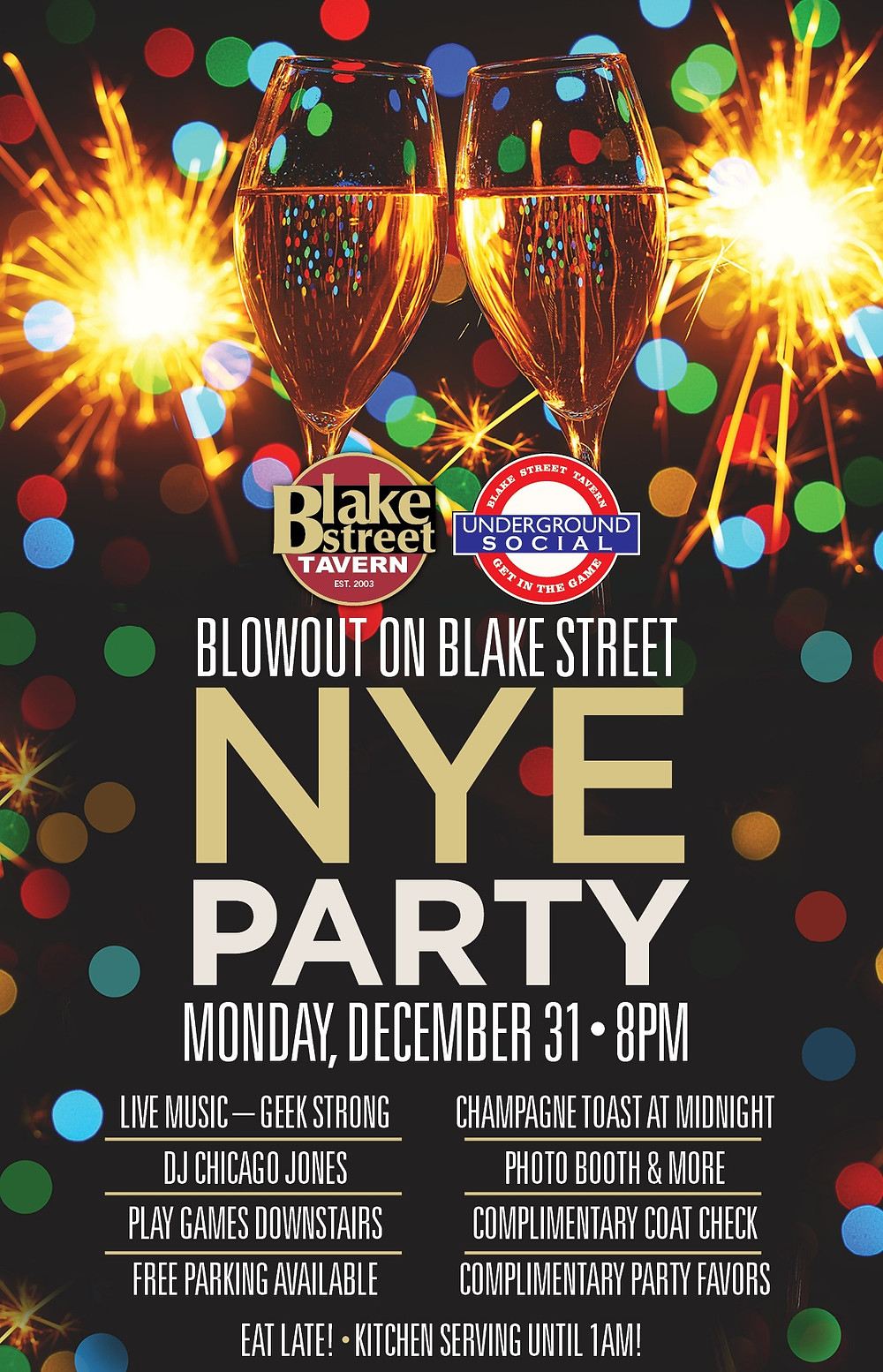 Downtown Denver New Year's Eve Party Deal