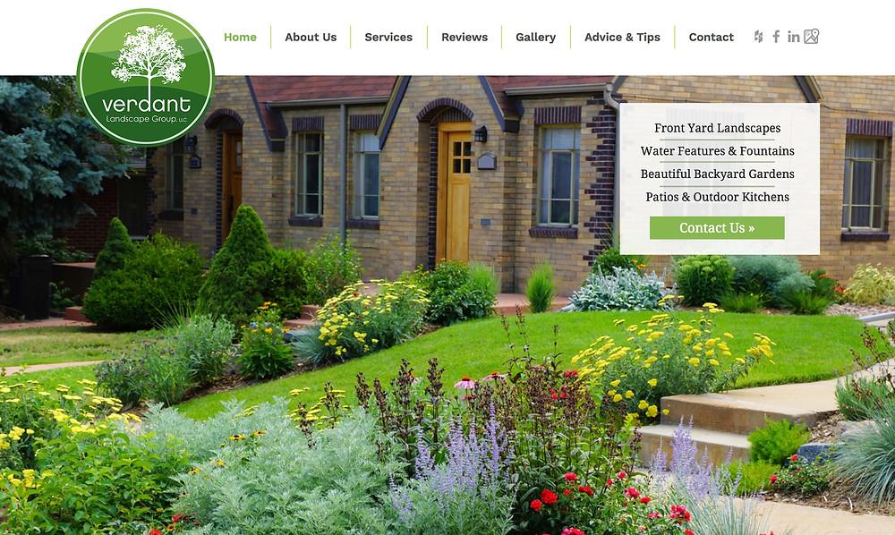 Wix Designer Templates - for Landscaper