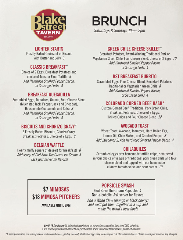 Best Brunch in Denver at Blake Street Tavern - LIGHTER STARTS Freshly Baked Croissant