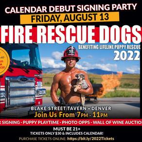 Denver Firefighter Calendar Signing!