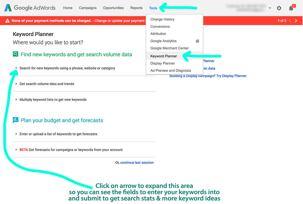 SEO Hero - Google Keyword Planner Tool
