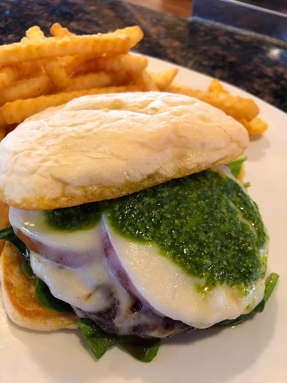 Denver's Best Burger of the Month: Caprese Burger
