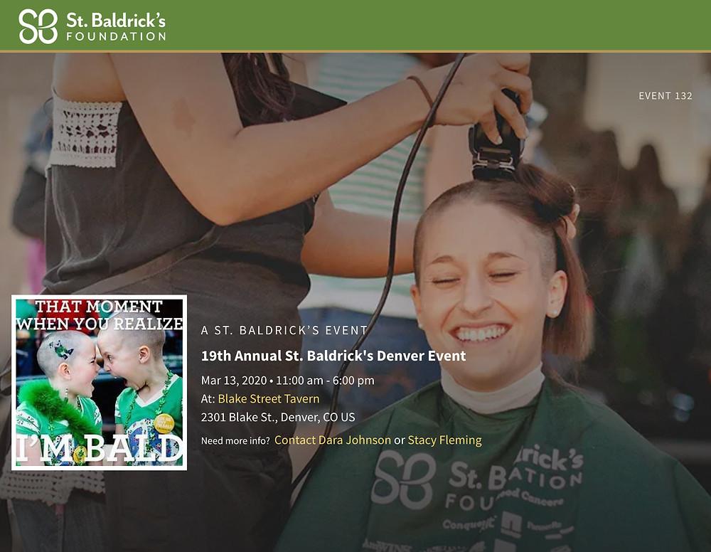 St. Baldrick's Denver Event
