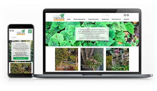 Wix Designer for Native Plant Organization
