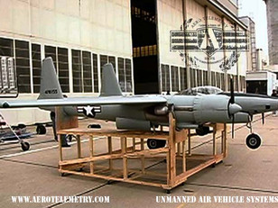 Hughes XF-11 on set for the movie The Aviator