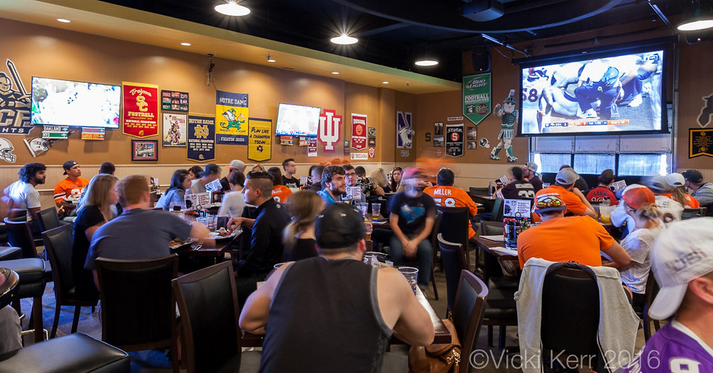 Private Dining Rooms in Denver - Watch a game in our Tailgate Room!