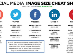 Social Media Image Sizes 2020