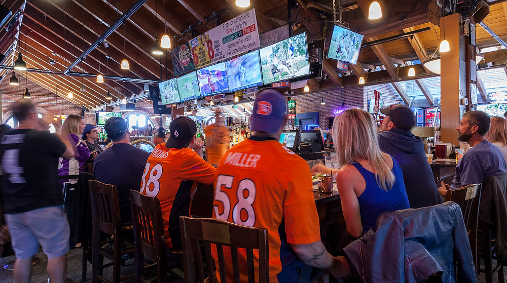 Denver's Best Sports Bar - Blake Street Tavern is the best Broncos Bar!