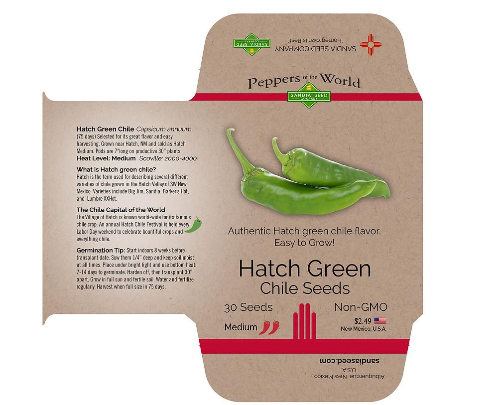 Seed Packet Design in Denver, Colorado
