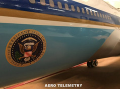 Finish details of the Aero Telemetry Air Force One 747 are simply stunning.