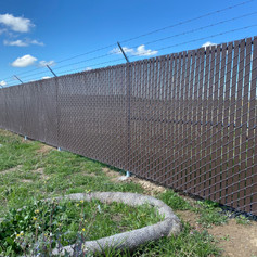 Chain Link with Viewguard Privacy Slats