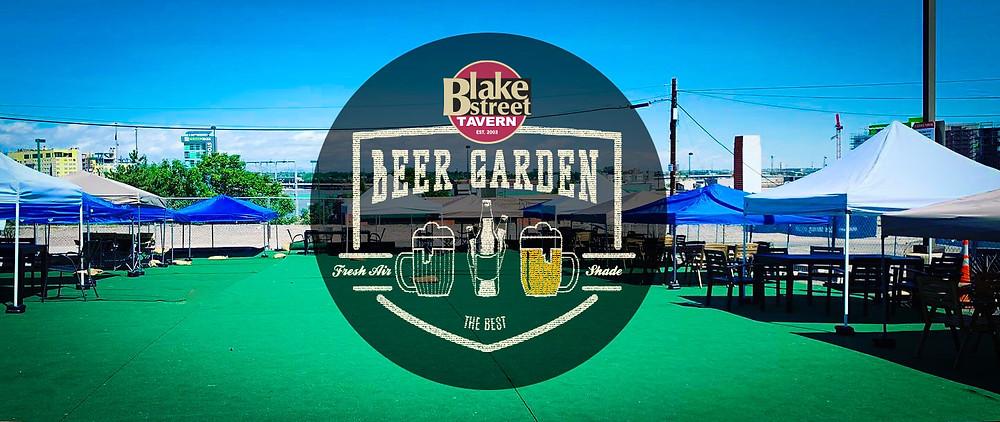 Denver Beer Garden at Blake Street Tavern downtown near Coors Field