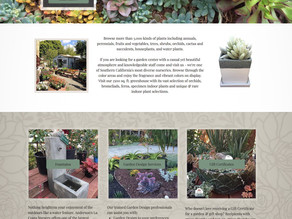 Plant Nursery Website Templates