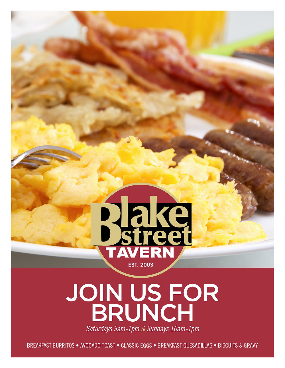 Downtown Denver Breakfast & Brunch at Blake Street
