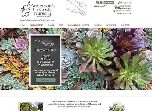 Wix Designer – for Garden Nursery