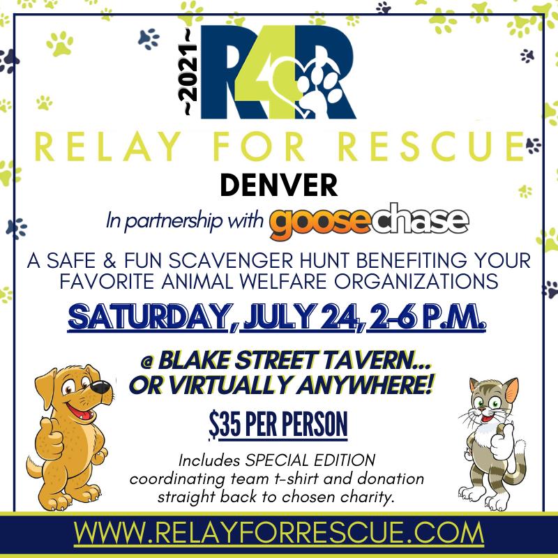 Relay for Rescue - Denver - at Blake Street Tavern in Denver
