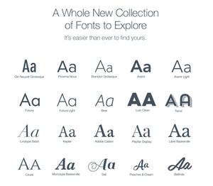 Denver Website Designer - New 2016 Wix Fonts