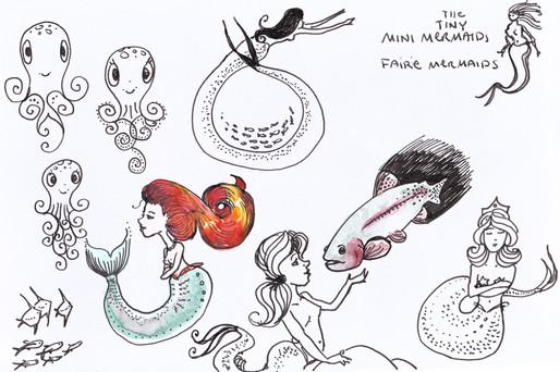 The Trout Mermaids Book Studies
